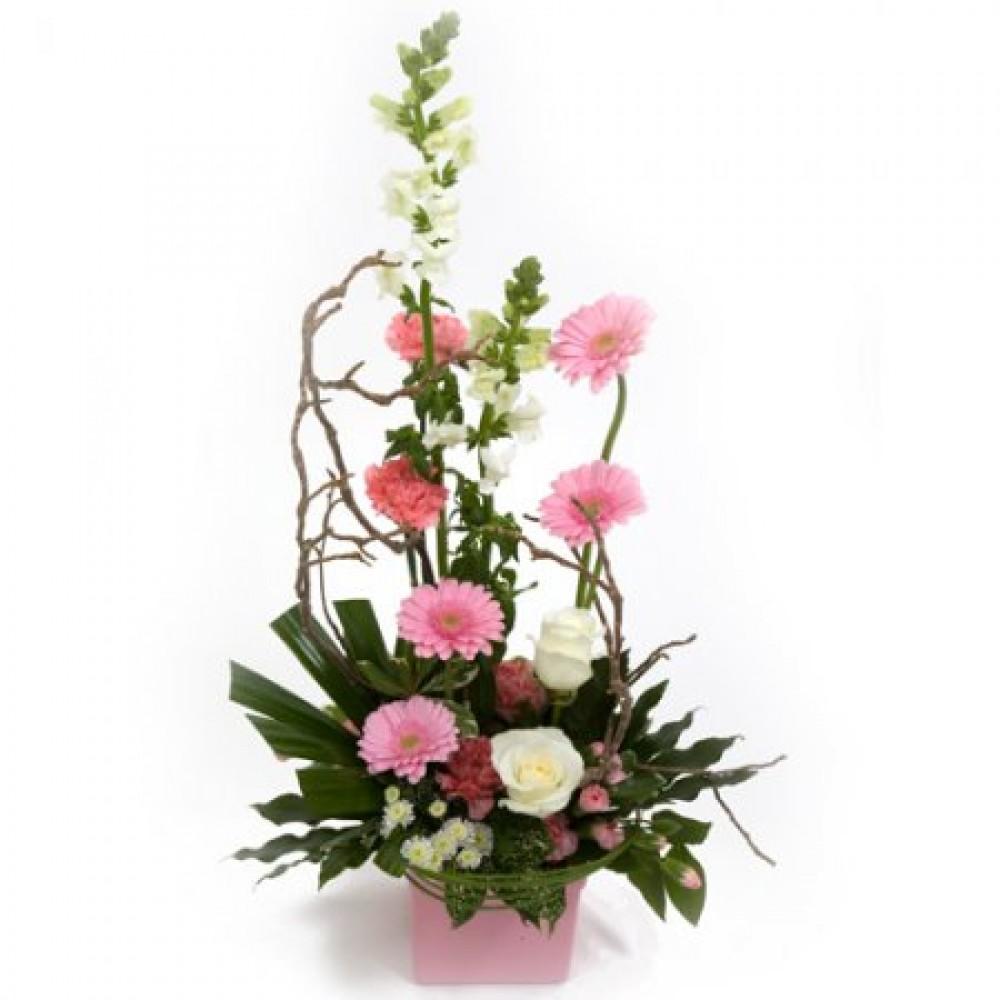 Modern Arrangement   Rocamaer Flowers
